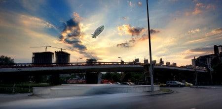 Реклама с Цепелини